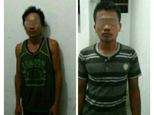 Ini Dua Pelaku Penganiayaan Yang Berhasil Ditangkap Polres Inhu