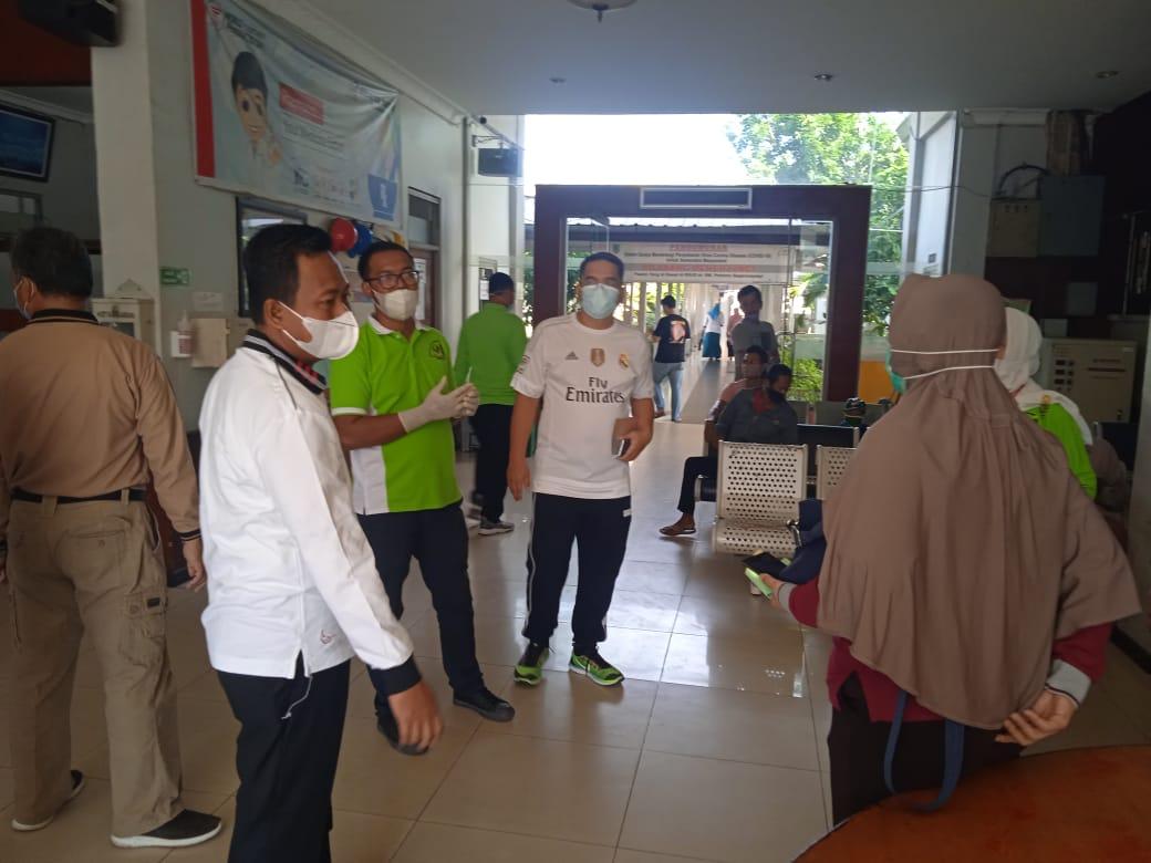 Wabup Rohil Sidak ke RSUD Dr Pratomo Bagansiapiapi
