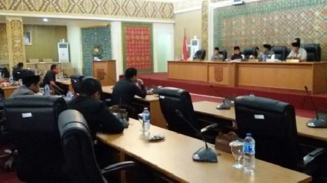 Ini Hasil Rapat Paripurna Reses II DPRD Pelalawan