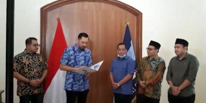 Pilbup Bengkalis, Khairul Umam dan Nur Azmi Dapatkan Dukungan Partai Ini