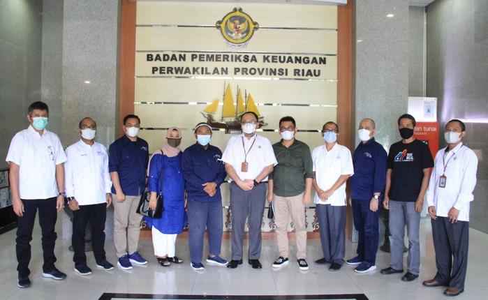 Tiga Asosiasi Perusahaan Pers Datangi BPK Riau