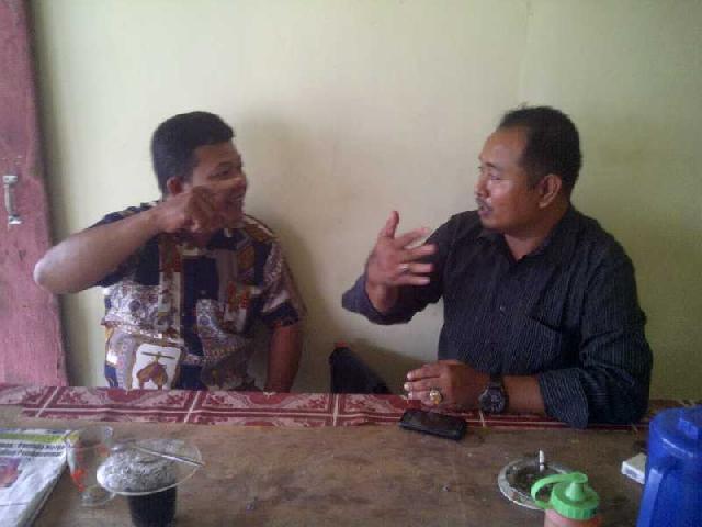 10 Anggota DPRD Rohil di Bagan Sinembah Tak Mampu Berikan Kontribusi Untuk Pembangunan Terminal