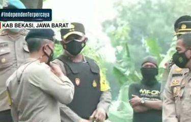 Terduga Teroris di Bekasi Ditangkap, Bahan Baku Bom Diamankan