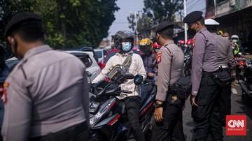 Jalan Tikus Masuk DKI Dijaga Ketat Selama PPKM Darurat