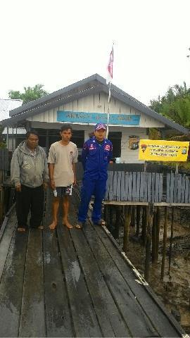 Di Inhil, Kapal Pompong Bermuatan Tiang Listrik Tenggelam, Satu Orang ABK Hilang