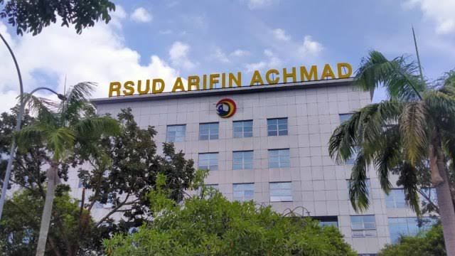 Tingkat Keterisian Tempat Tidur di RSUD Arifin Achmad Turun, Apakah Penyebaran Covid-19 di Riau Memb