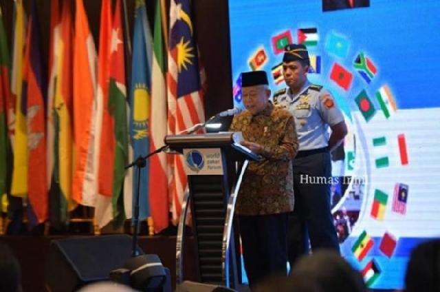 Bupati Inhil Bicara Zakat di Tingkat Internasional WZF 2019
