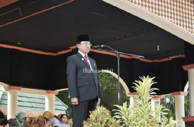Bupati Indragiri Hilir Jadi Irup Peringatan Hari Pahlawan 2019